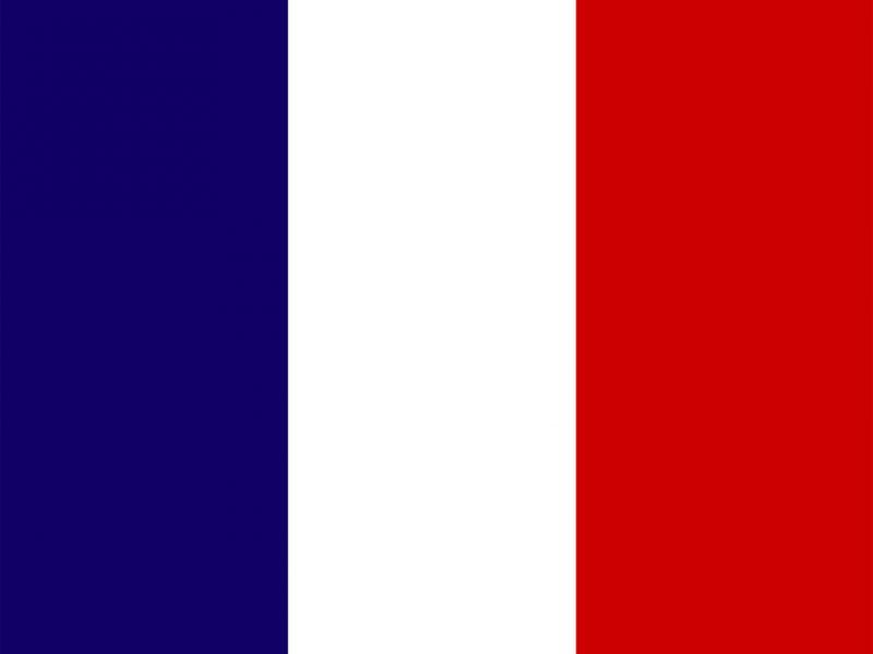 Flagge Frankreich